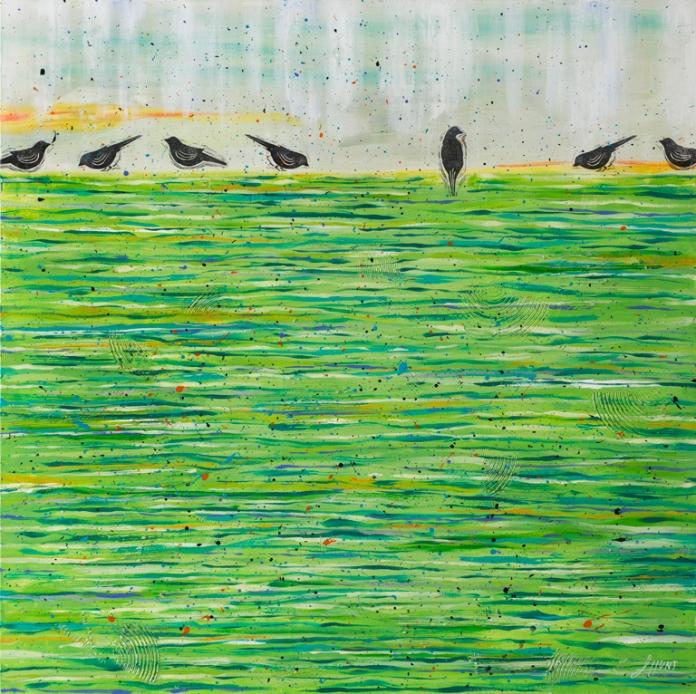 17384 BirdsOnAWetLawn-lo