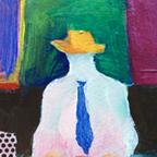 19518 Yellow Hat-Study-lo-sq