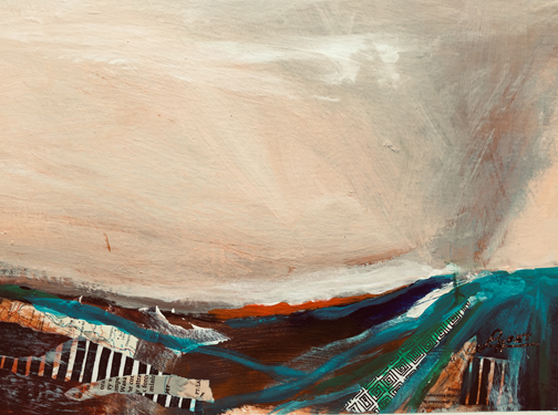 19527 Sky Over Terrain-Study-lo